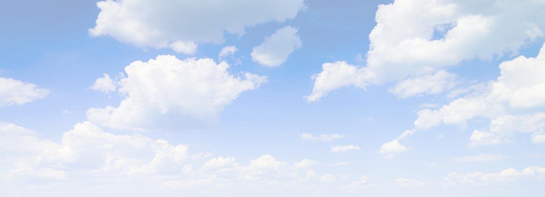 Blue sky background image